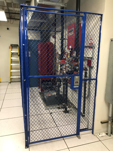 Wire Cage-equipment protection