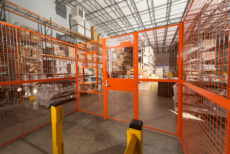 Warehouse Wire Partition