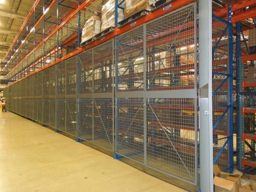 Wire Guarding-Rack Enclosure