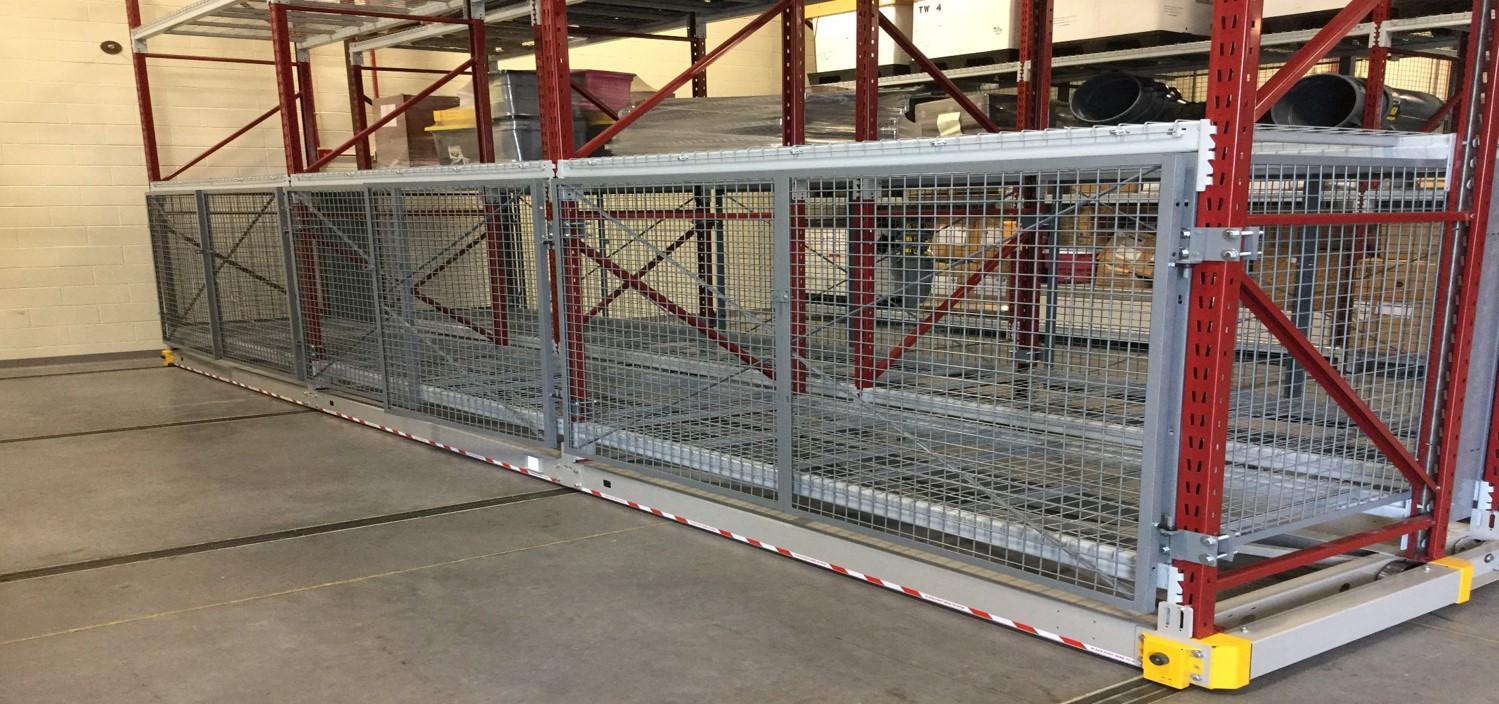 Wire Mesh Rack Enclosure