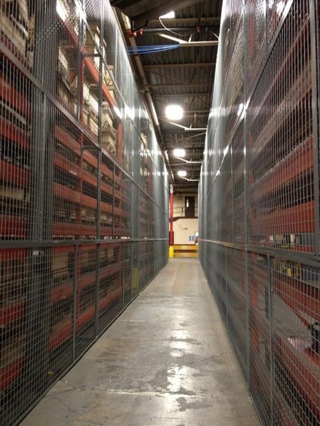 Rack Safety System-guarding