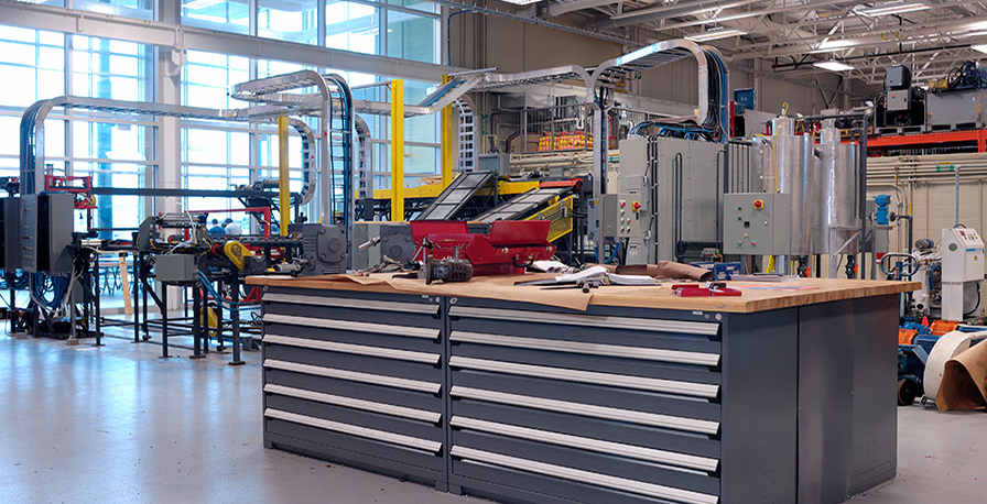 Industrial workbench-Rousseu