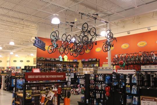 Overhead Bike Storage