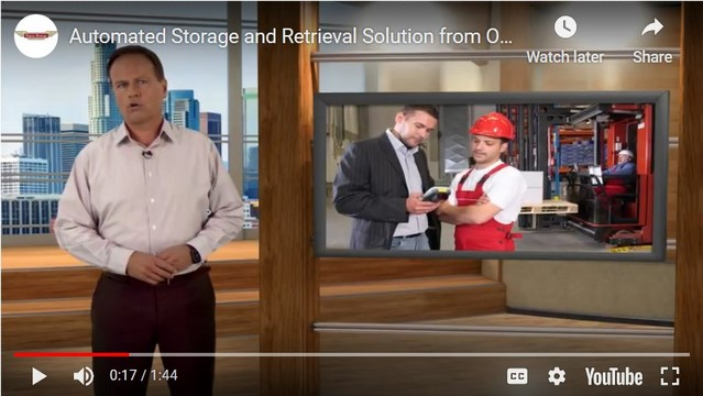 Video-Automated Storage and Retrieval Solutions