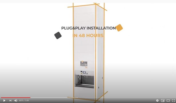 Video-Modula Slim Vertical Lift