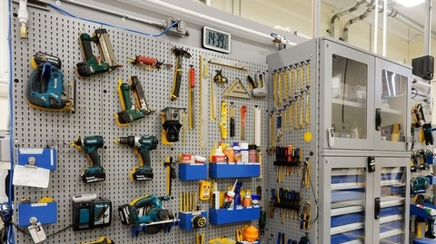 Tool Storage-panels-cabinets-Rousseau
